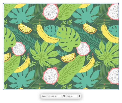 seamless pattern techniques how to create a tropical pattern in adobe illustrator