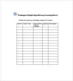 Template For Students by 8 Student Agenda Templates Free Sle Exle Format