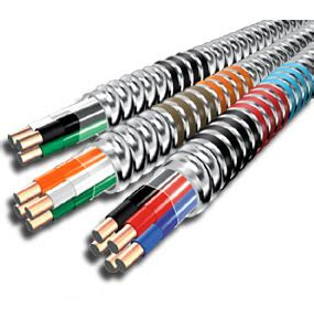 10 3 mc cable stranded aluminum jacket