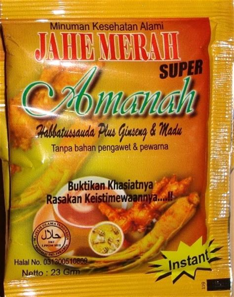 Jahe Merah Amanah Jma Habbatussauda Plus Ginseng Madu jual harga murah herbal jahe merah amanah sarana muslim store