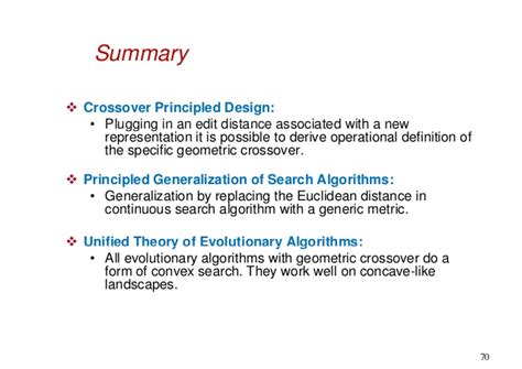 Fitness Landscape Theory Definition Ieee Cec 2013 Tutorial On Geometry Of Evolutionary Algorithms