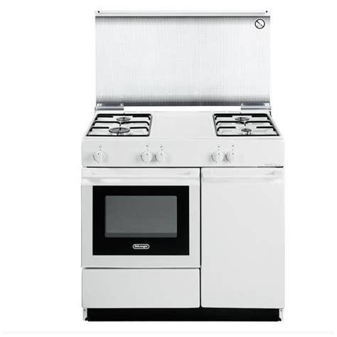 de longhi cucine de longhi sgw854n cucina 86cm 4 fuochi a gas forno gas
