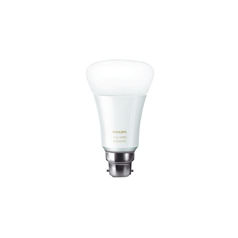 Philips Hue Led Light Bulbs Philips Hue Ambient White Led Smart Light Bulb B22 For Apple And Android Ebay