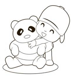 pocoyo coloring pages free printable coloring pages cool coloring pages