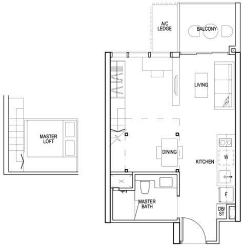urban loft floor plan sims urban oasis condo singapore private condo for sale