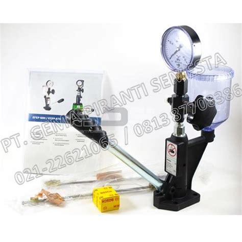Alat Test Injektor jual nozzle tester bosch efep60h alat test nozzle harga murah jakarta oleh pt gema piranti semesta