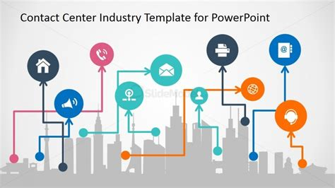 templates for powerpoint communication powerpoint slide for modern communication for business