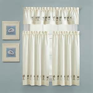 Palm Tree Kitchen Curtains Croscill 174 Palm Tree Kitchen Window Panel Www Bedbathandbeyond Ca