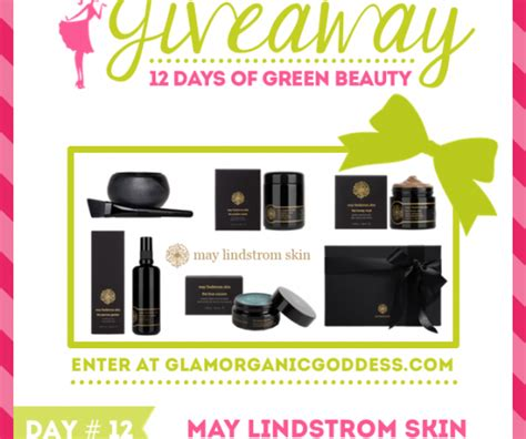 Beauty Giveaways 2014 - winners 12 days of green beauty giveaway the glamorganic goddess