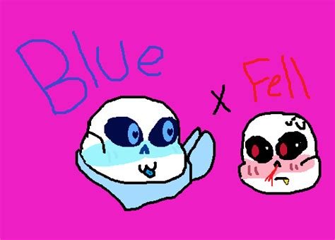undertale blueberry sans x cherry sans by