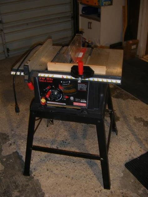 craftsman table saw review review craftsman 21802 13 120 volt 10 quot table saw