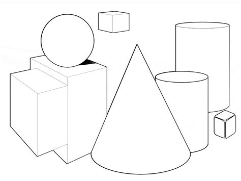Free Printable Shapes Coloring Pages For Kids Basic Shapes Coloring Pages