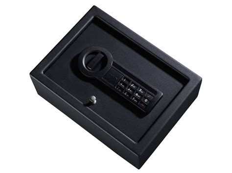 stack on electronic locking drawer safe stack on pistol drawer safe electronic lock black