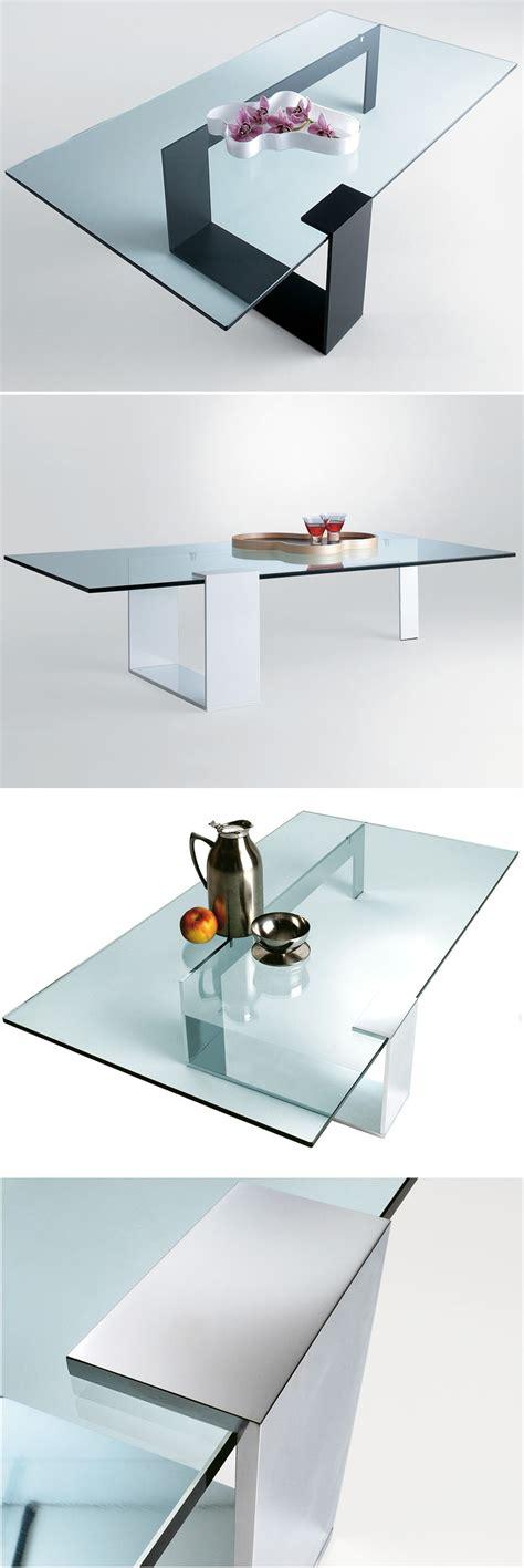 giulio mancini plinsky glass coffee table  tonelli novacom