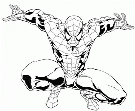 spiderman coloring book pages coloring home