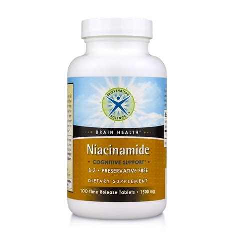 Niacinamide Detox by Niacinamide For Cognitive Support