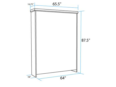 murphy bed dimensions vertical full murphy bed closed