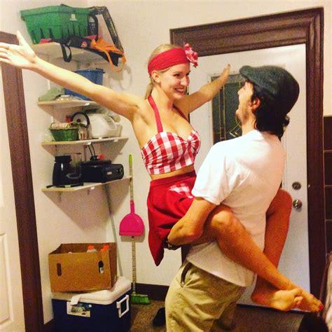 creative couples halloween costume diy  notebook noah