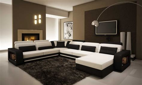 Kursi Ruang Tamu Biasa kursi sofa ruang tamu minimalis warna hitam putih terbaru