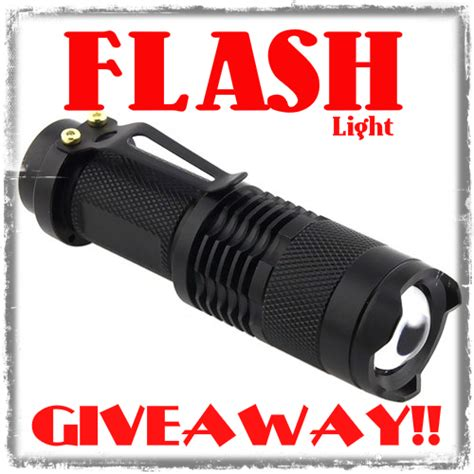 This Is Lit Giveaway by The Flash Light Giveaway 187 Tinhatranch