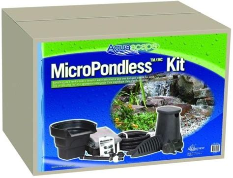 aquascape pondless waterfall kit aquascape pondless waterfall kit micropondless waterfall