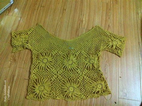 sunflower free pattern hobbycraft crochet lace sunflower pullover for craft ideas