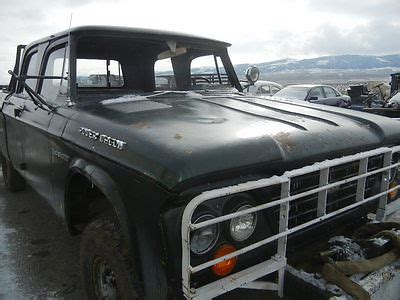 1964 dodge power wagon ambulance straight 6 4speed 4x4 vehicles for sale in clyde park mt