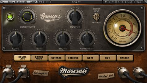 Waves Maserati by Waves Maserati Grp Processor Plugin