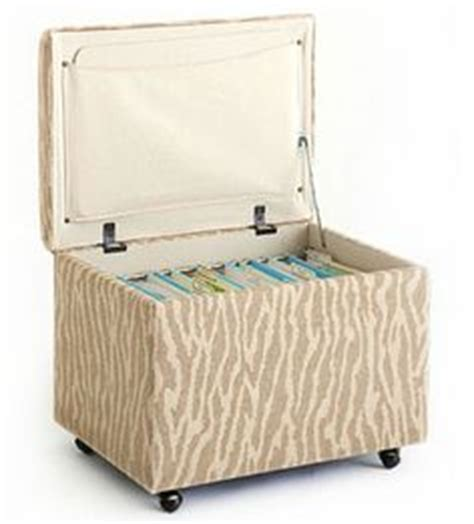 hanging file storage ottoman 1000 images about storage solutions on pinterest