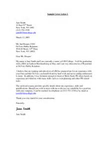 cover letter exles for communication internships