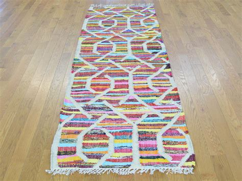 colorful runner rugs 2 6 quot x8 woven colorful flat weave kilim runner rug sh29495 product 2 6 x8
