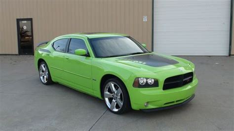 sublime green dodge charger for sale find used 2007 dodge charger r t daytona sublime green