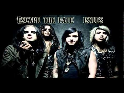 The Fate Official escape the fate issues official song