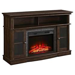 whalen 174 media electric fireplace console 54 quot brown
