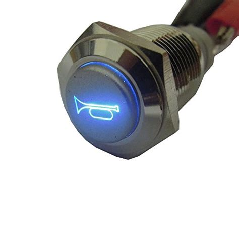 Push Button Switch Cr 301 1 5a 250vac 30mm Hanyoung e support 12v car auto blue led light momentary speaker