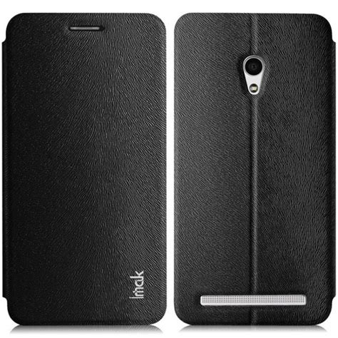 Imak Flip Leather Cover Series For Zenfone 5 1 imak flip leather cover series for zenfone 5 black