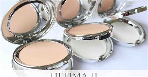 Makeup Ultima review ultima ii delicate creme powder makeup and