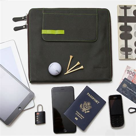 Pocket Touch Bank Book Oragnizer Ab5413 tab seatback organizer zip sleeve walter touch of modern