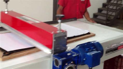 corte de caixa de pizzas facmais maquinas de corte