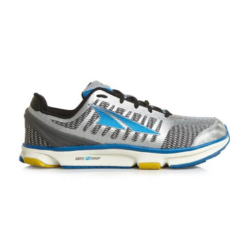 o drop running shoes altra provision 2 0 zero drop running shoes white blue