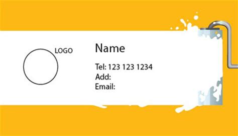 vancouver painting business cards vancouver solutionsignsawningscom