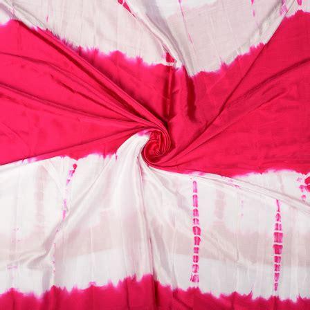 Batik Satin buy pink and white batik satin fabric 32052