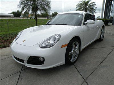 how to fix cars 2009 porsche cayman electronic throttle control buy used 2009 porsche cayman s coupe white black clean automatic low miles warranty in orlando