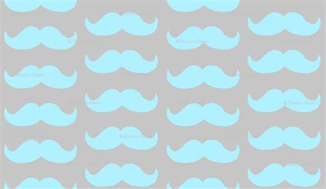 Cute Mustache Wallpapers - WallpaperSafari Unique Girly Backgrounds
