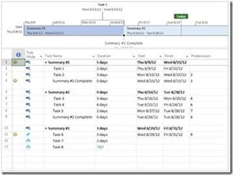 simple project plan template pmconnection microsoft project 2013 templates