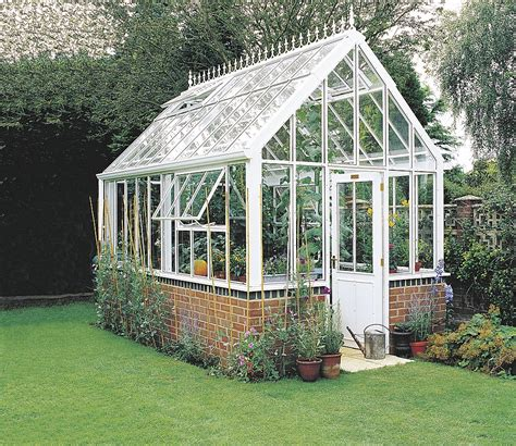 love this beautiful victorian style greenhouse green