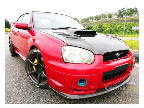 subaru impreza malaysia subaru impreza 2006 wrx 2 0 in selangor manual sedan red