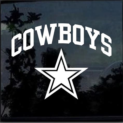 Dallas Cowboys Car Stickers