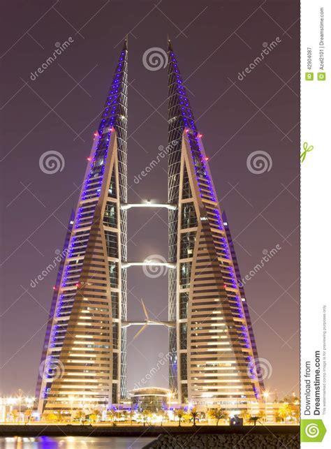 design grafix bahrain bahrain world trade center editorial photography image