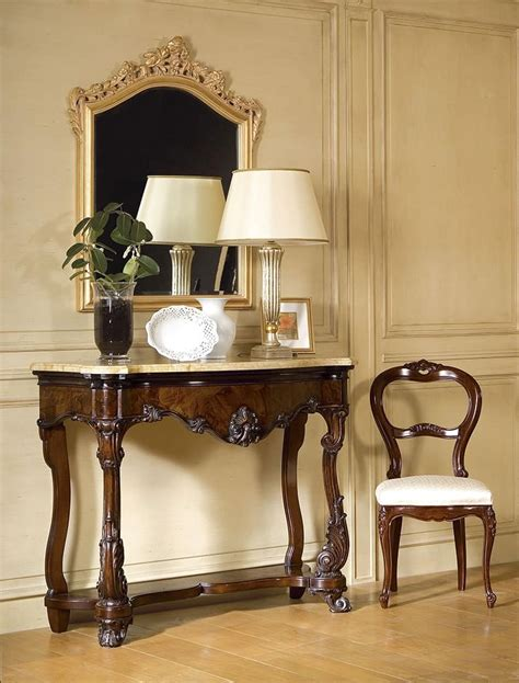 consolle per ingresso classiche consolle classica di lusso piano in marmo per importanti